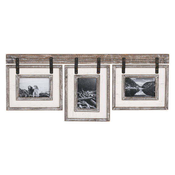 Ashworth Frame 3-4x6 Grey/White