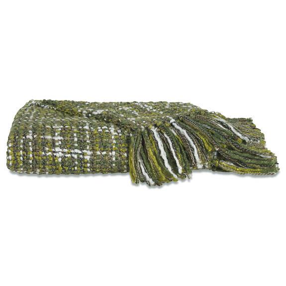 Betina Throw Olive/Fern/Moss