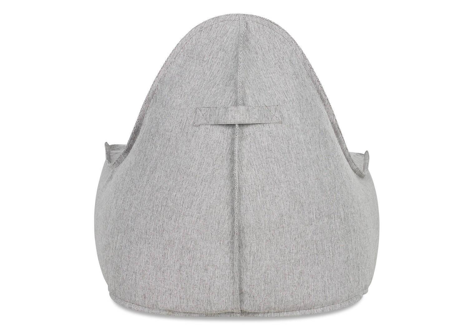 Cabana Chair w/ Ottoman -Kobe Grey
