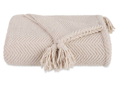 Brisbane Chenille Throw Blush