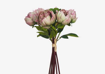 Bouquet de pivoines Liliane rose ballet