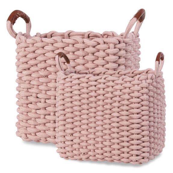Corde Baskets - Ballet Pink