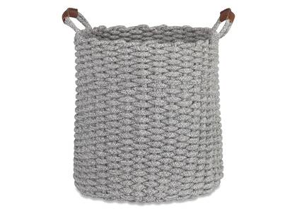 Corde Melange Laundry Basket Grey