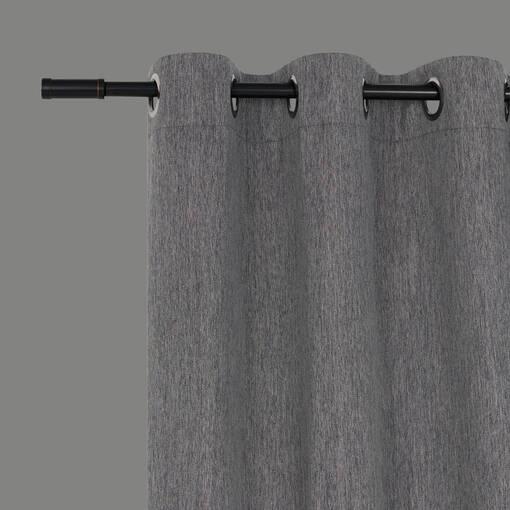 Rideau Morris 96 gris