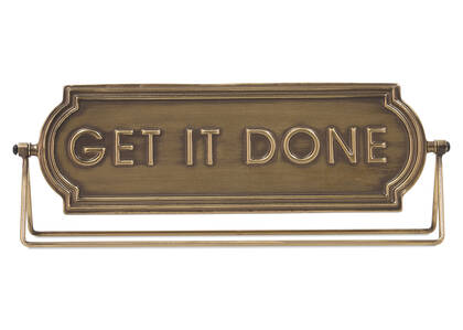 Get it Done Sign