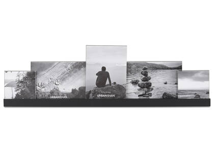 Nye Collage Frame 2-4x4, 3-5x7 Black