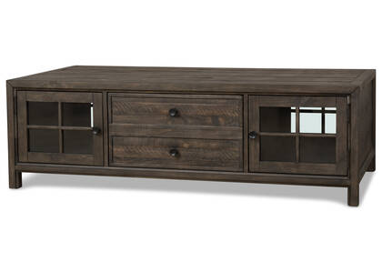 Churchill Storage Coffee Table -Carob