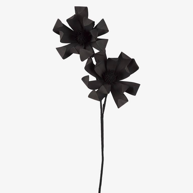 Mamie Flower Bunch Black