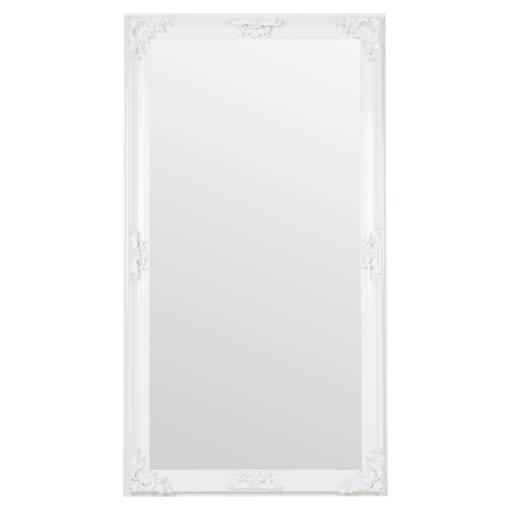 Presley Floor Mirror White
