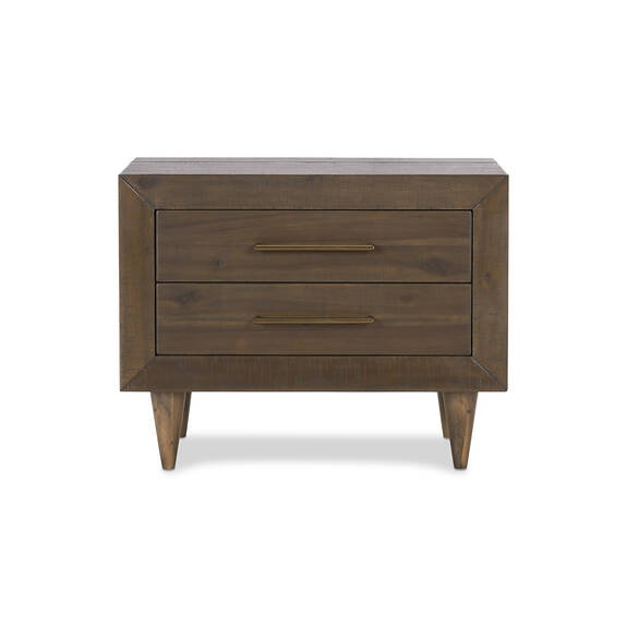Table de chevet Asher 28 -Mac brun