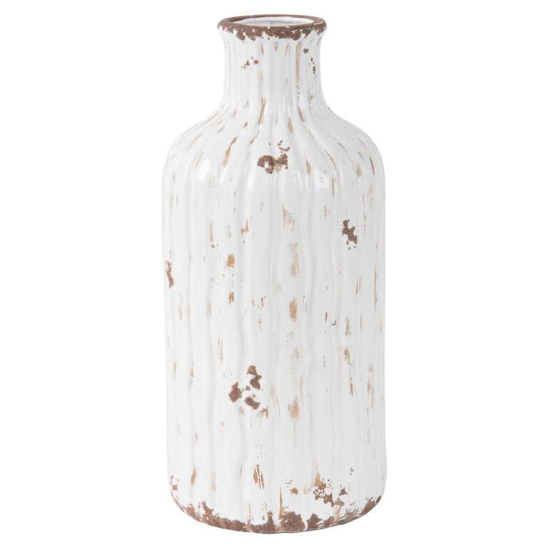 Maliah Vase Large Antique White