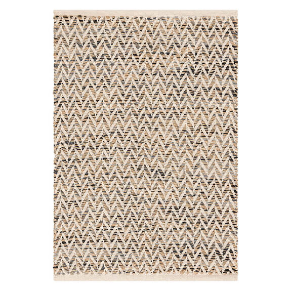 Eos Accent Rug - Natural/Grey/Black