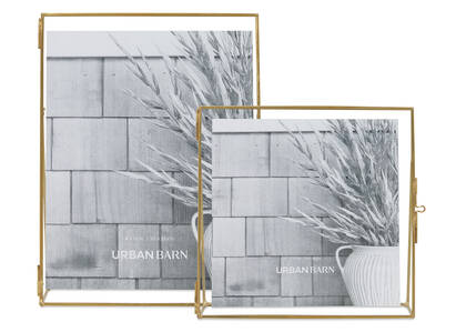 Leela Frames Brass