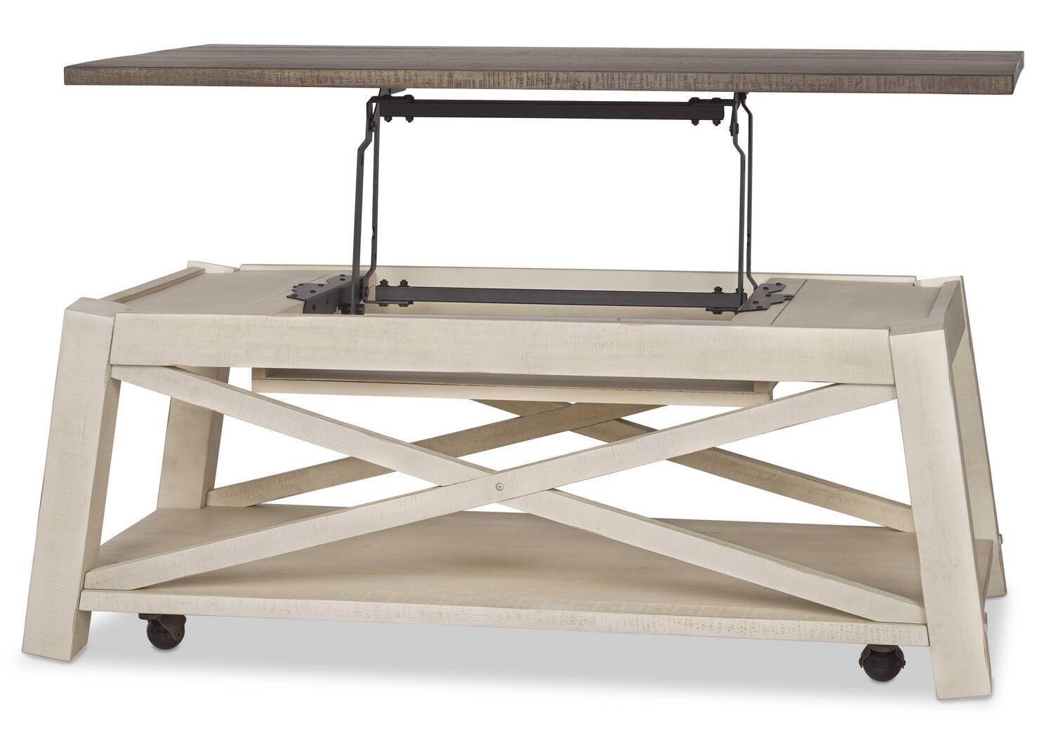 Sechelt Lift Coffee Table -Cove Drift
