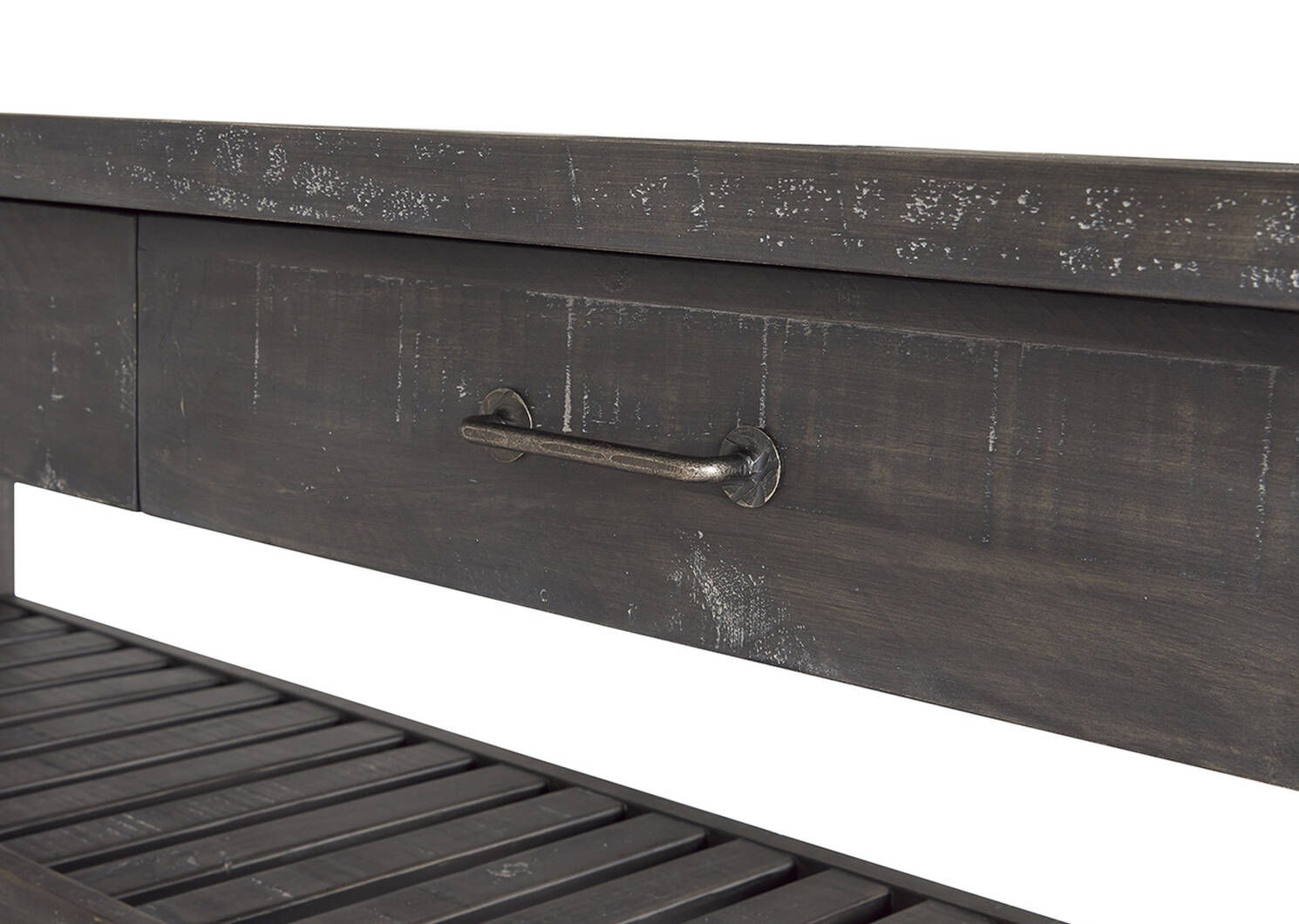 Table console à 2 tir. Ironside -fumée