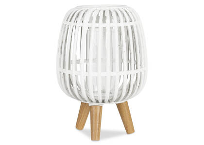 Lanterne Pauline blanche