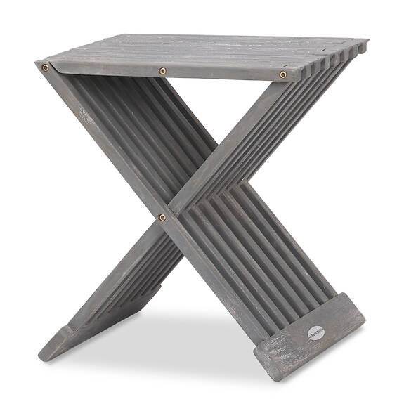Table d'appoint Galiano -teck gris