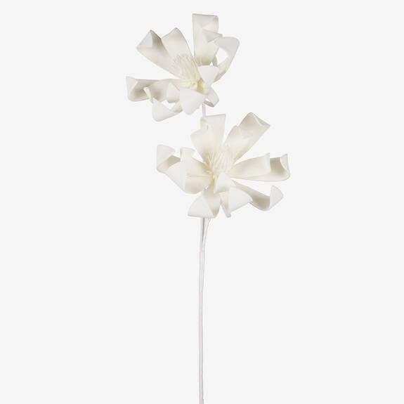 Mamie Flower Bunch White