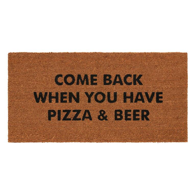 Pizza & Beer Doormat