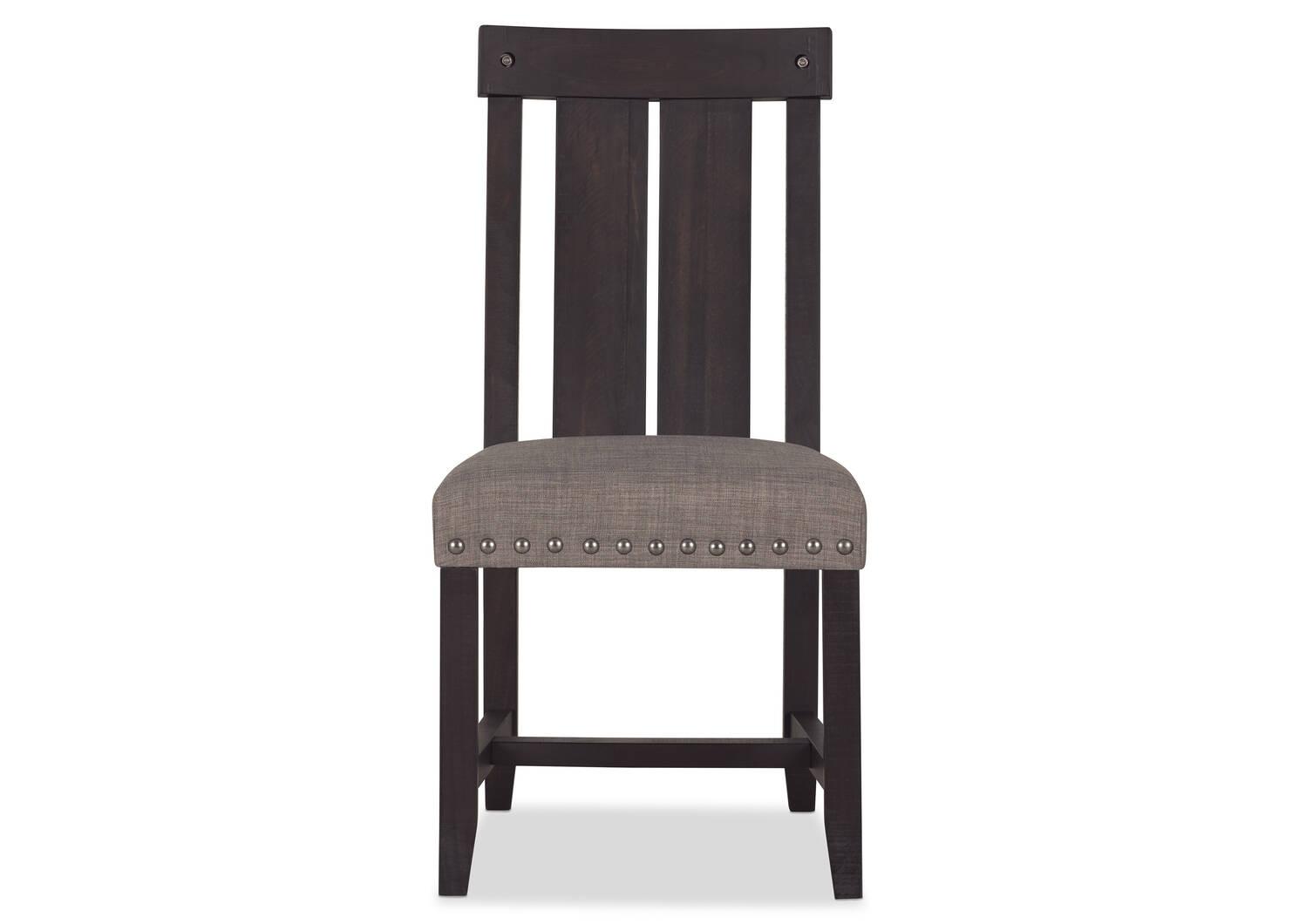 Chaise Ironside -café gris