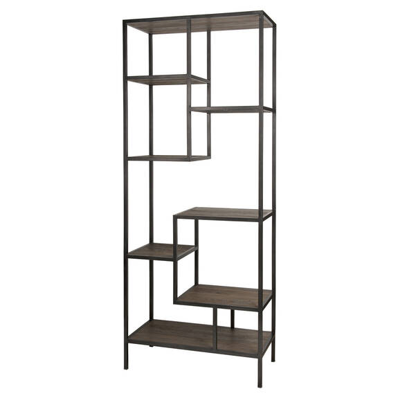 Corbin Display Shelf -Weathered Elm