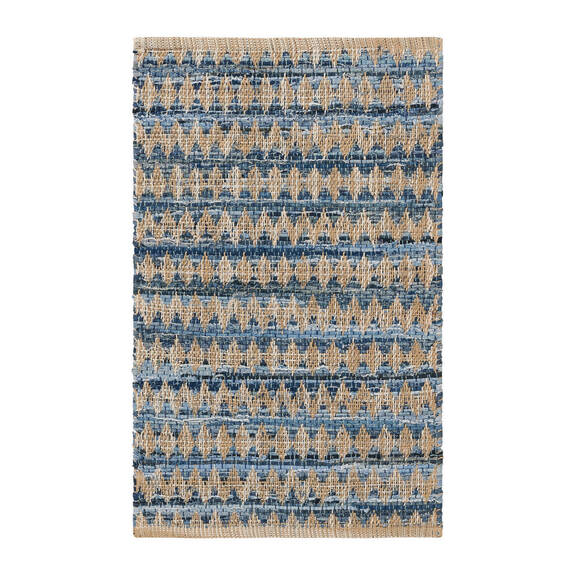 Obe Accent Rug - Denim