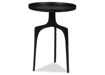 "Saylish Accent Table 25"" -Aged Bronze"