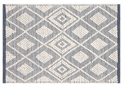 Olympia Accent Rug - Navy/Ivory