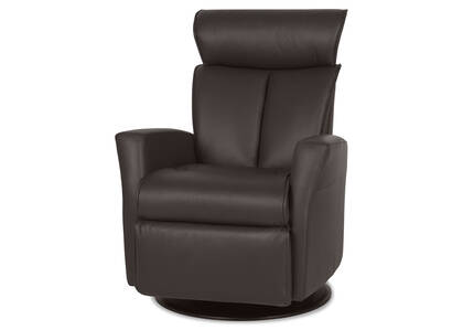 Hendrick Leather Recliner -Tre Brown