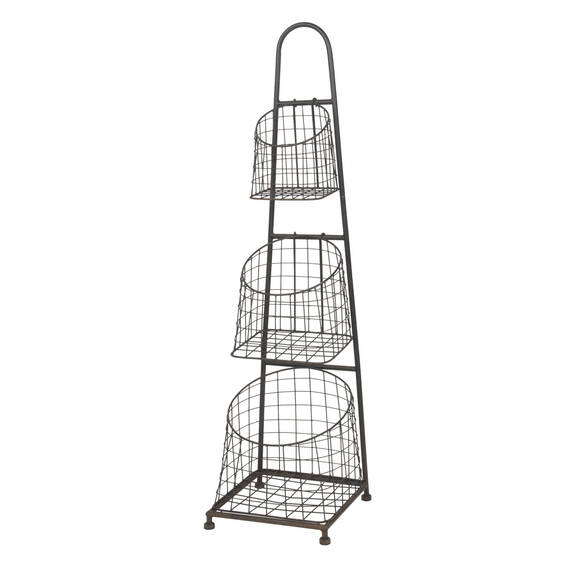 Elias 3 Tier Basket Stand