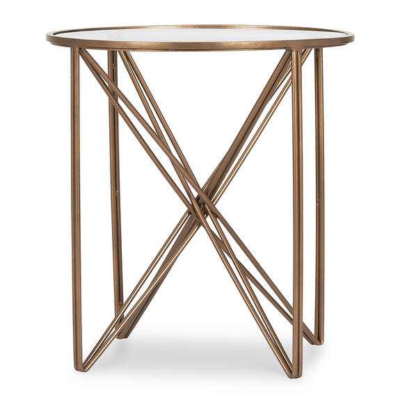 Nebula Side Table -Antique Brass