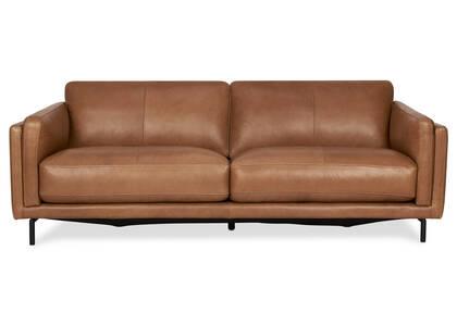 Canapé cuir Renfrew 80 po -Adler brun cl