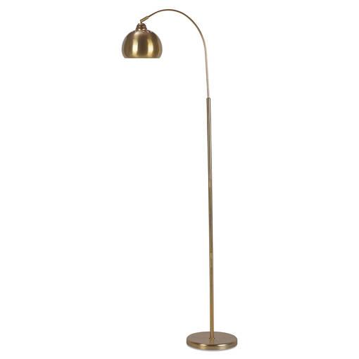 Aura Floor Lamp Brass