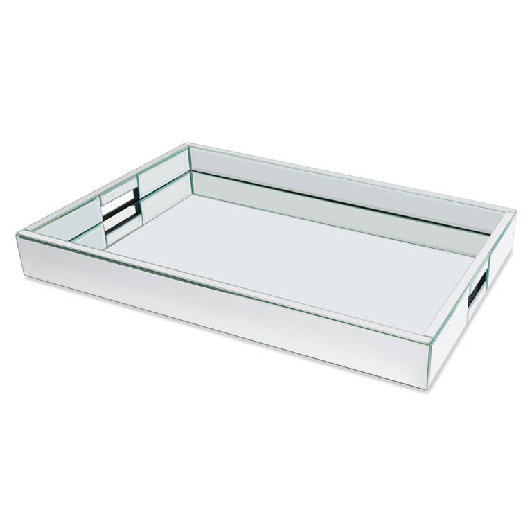 Charlize Mirror Tray Large