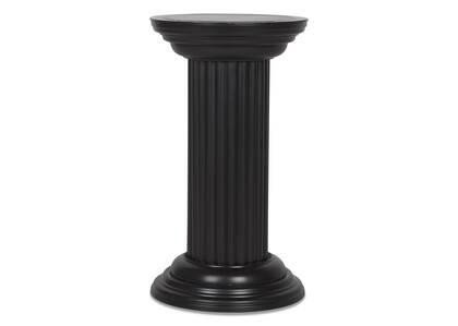 Mossey Pedestal Black