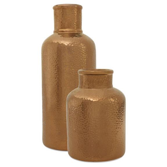 Kehlani Vases - Brass