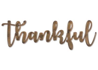 Thankful Wall Sign