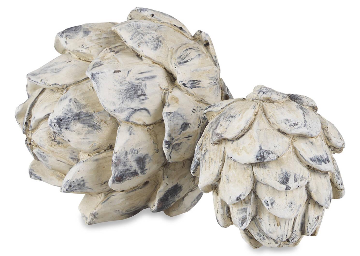 Ruta Artichoke Ball Large White