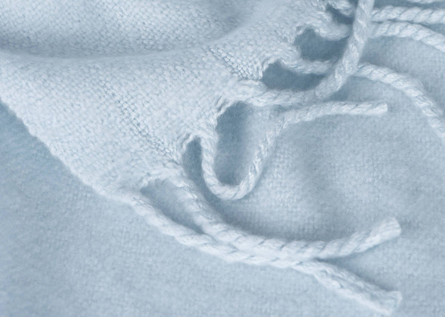 Downey Brushed Throw Ballad Blue