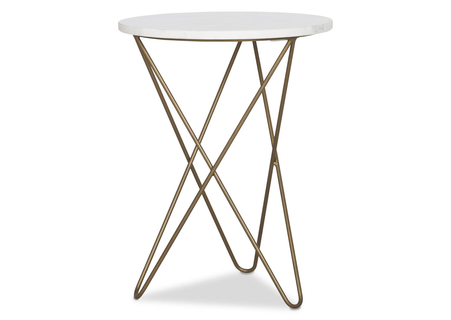 Ora Accent Table -Simba Brass