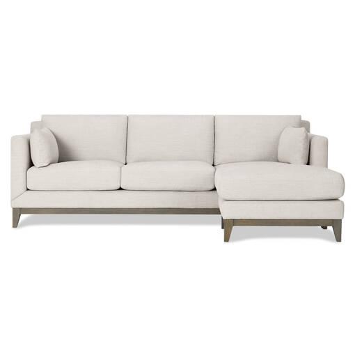 Ryerson Sofa Chaise -Aros Dove