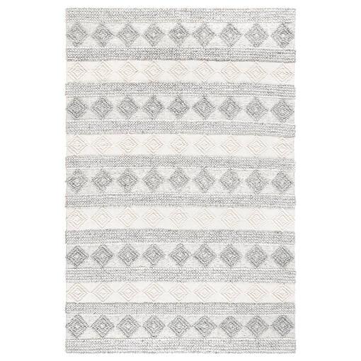 Arkun Rug 108x144 White/Grey