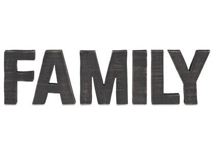 Bloc écriteau Family