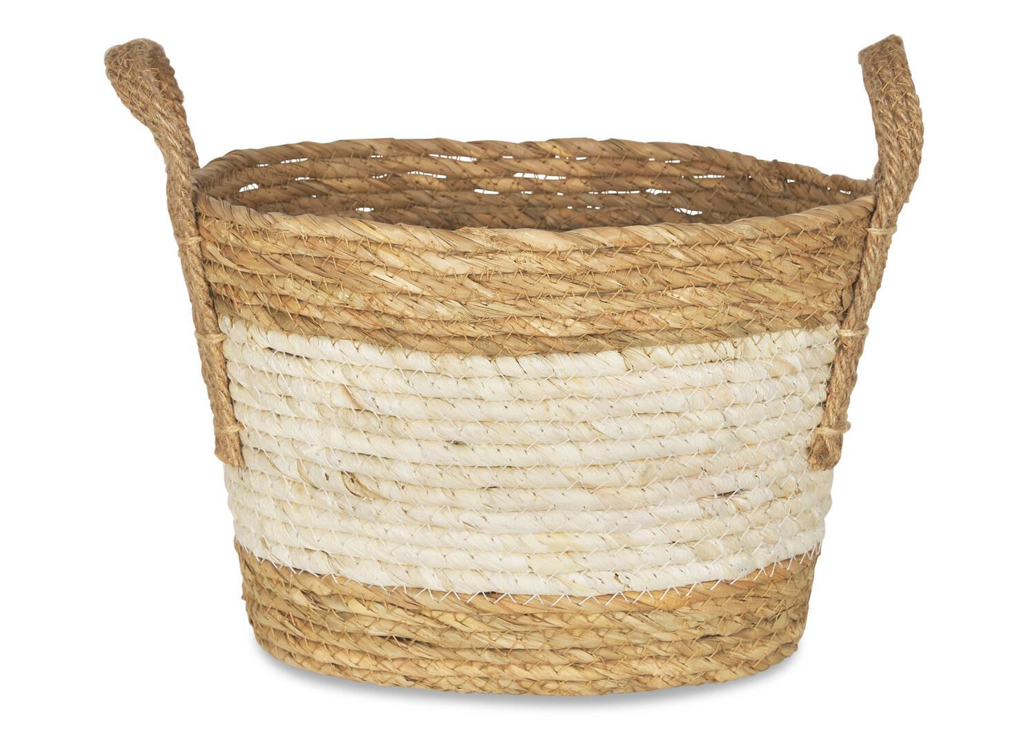 Zelie Baskets Natural/Ivory
