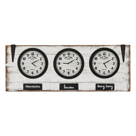 Zones Wall Clock