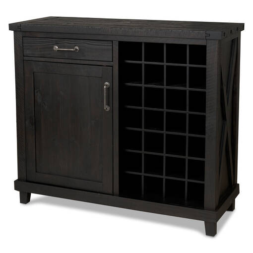 Cabinet à vin Ironside -café
