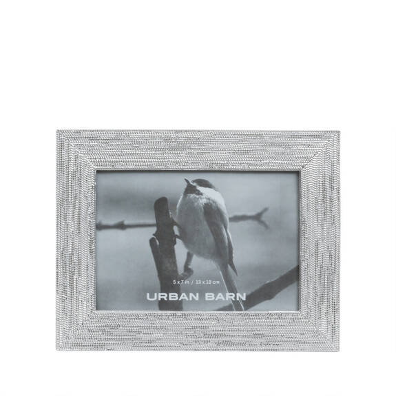 Rooney Frame 5x7 Silver