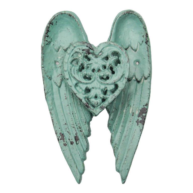 Crochet ailes d'ange Angeles aqua