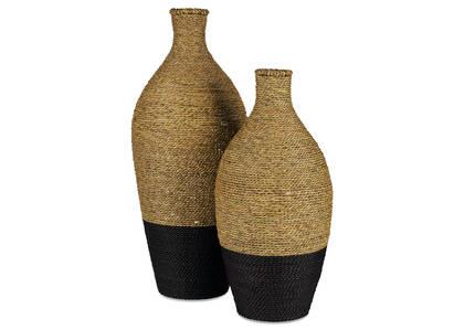 Vases Vaccaro -noirs