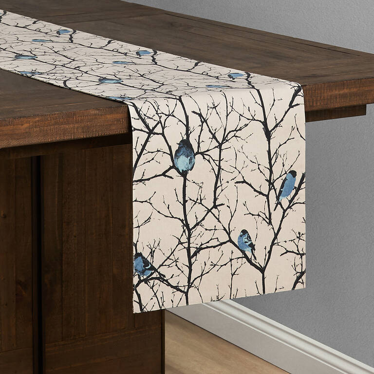 Bullfinch Table Runner Dune Willow